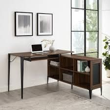 Carbon loft 52 inch l Shaped Computer Desk  Retail 341 99