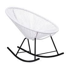acapulco rocker chair white