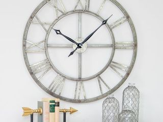 Samson Metal Wall Clock   32 h x 32 w x 2 d  Retail 81 99