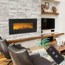 zokop 42 inch mounted electric fireplace with remote