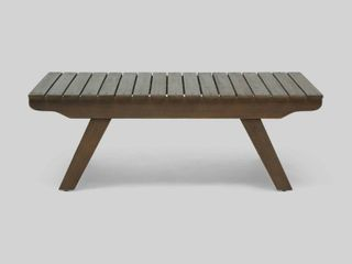 Sedona Outdoor Wooden Coffee Table by Christopher Knight Home  Retail 97 99