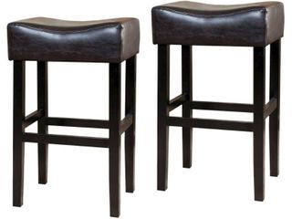 Set of 2   Brown   Bar Height   29 32 in  Retail 187 99