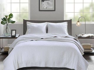Home Essence Mitchell 3 Piece Reversible Coverlet Set King Cali King