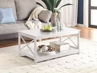 Convenience Concepts Oxford Coffee Table  White