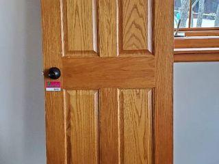 28in x 79in Solid Oak Door
