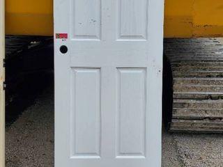 28in x 80in Solid Wood Door