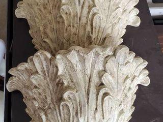 2  Ceramic Wall Sconces