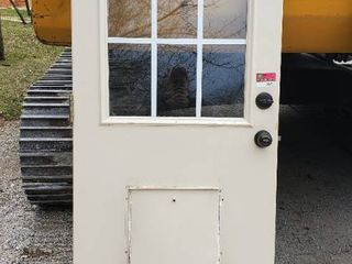 32in x 80in Heavy Exterior Door