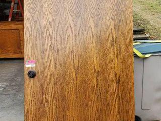 36in x 80in Solid Oak Door