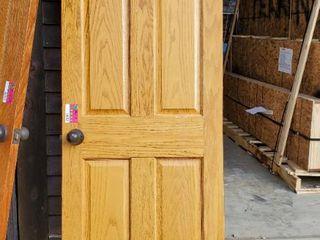 26in x 79in Solid Oak Door