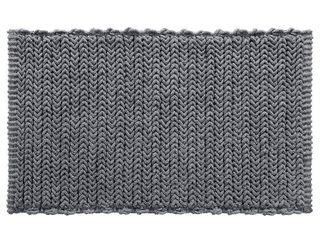 Home Essence Braide Yarn Dyed Cotton Chenille Chain Stitch Rug