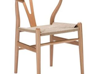Poly and Bark Weave Chair in Natural   Retail 169 49