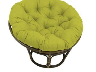 Blazing Needles 44 in Indoor Outdoor Papasan Cushion  Base Not Included