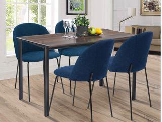 Carson Carrington Modern Fabric Dining Chair  Set of 2