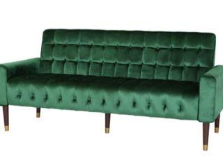 Hertford Velvet Sofa by Christopher Knight Home  Retail 559 99