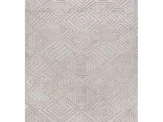 Jonathan Y Jordan High low Pile Art Deco Geometric Indoor Outdoor Area Rug  Retail 77 98
