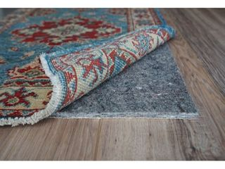 GripSoft 1 4 in Thick Non Slip Cushioned Felt Rubber Rug Pad   Beige