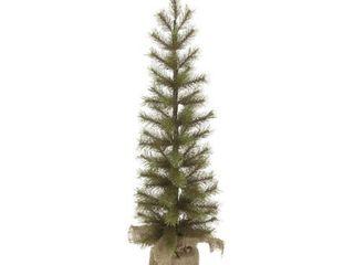 Sullivans Needle Pine Pencil Tree with Burlap Base