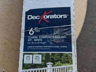 Grab and go railing kit