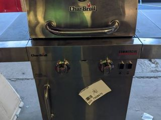 Char Broil Commercial Stainless Steel 2 Burner liquid Propane and Natural Gas Infrared Gas Grill