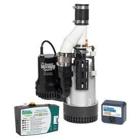 Basement Watchdog BW4000 1730 Gallons Per Hour Combination Primary and Back Up Pump System