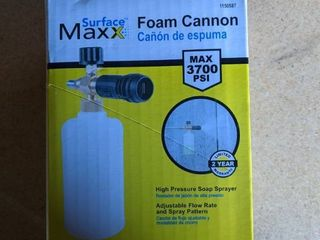 Surfacemaxx 3700 Foam Cannon