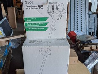 Bolens Bl 110 25 cc 2 Cycle 16 in Curved Shaft Gas String Trimmer