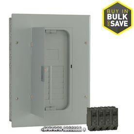 GE 12 Circuit 22 Space 100 Amp Main Breaker load Center  Value Pack