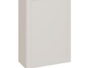 Diamond NOW Arcadia 24 in W x 36 in H x 12 in D Truecolor White Door Wall Stock Cabinet