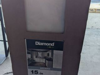 Diamond Now W1530r Arcadia 15  W X 30  H X 12  D Truecolor White Door Wall