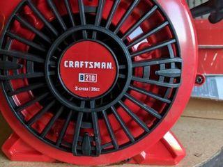 CRAFTSMAN B210 25 cc 2 Cycle 200 MPH 430 CFM Handheld Gas leaf Blower