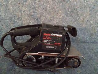 Craftsman belt sander