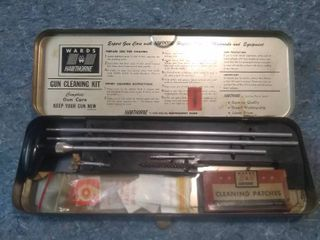 Vintage Wards Hawthorne Rifle Cleaning Kit