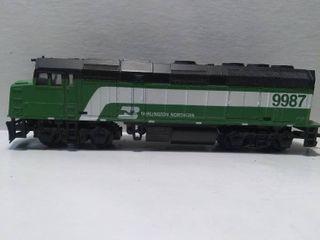 Burlington Northern 9987 HO Model Train Engine