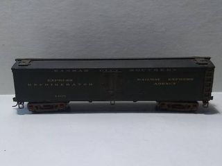 Kansas City Southern Express Refrigerator Railway Express Agency