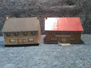 2 HO Model Buildings