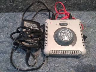 HO Model Train Controller with Power Supply and Cable