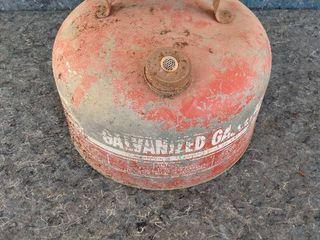 vintage fuel can
