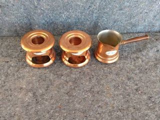 copper warming set