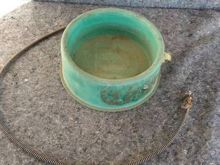 electric heated water bowl