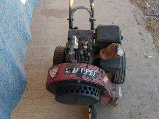 Briggs   Stratton motor on a blower