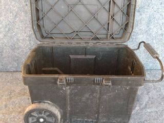 large rolling toolbox with contents