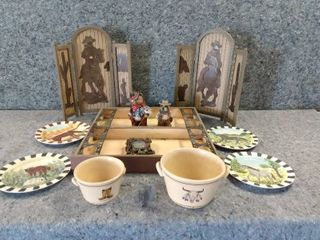 lot of Western Themed Items