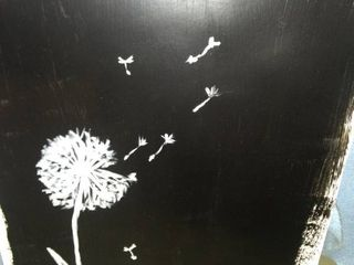 dandelion make a wish poster