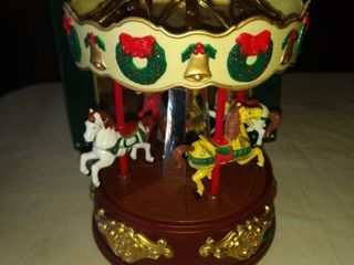 holiday village carousel