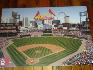 St louis Cardinals stadium photo 33 in x 22 in