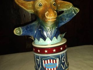 Jim beam Democrat decanter