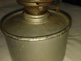 antique tin metal lantern