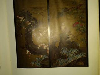 Japanese screen painting momoyama periid