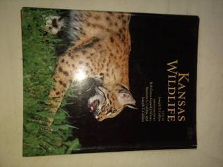Kansas wildlife book by Joe Collins local lawrence resident
